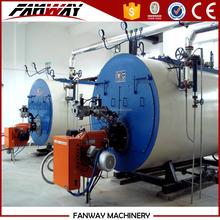 Steam generator for vegetable dryer