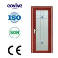 venta caliente de alta calidad de aluminio moderno comercial puerta de entrada