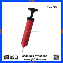 ball inflator, one-way ball pump (YG9708)