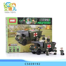 Interesting toy military cars blocks for kids