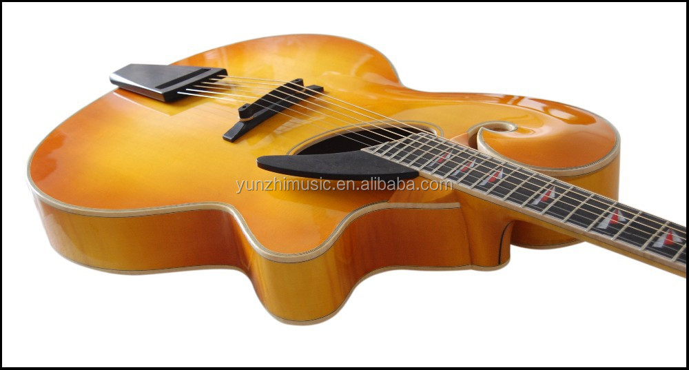 18 inch handcraft archtop mandolin style jazz guitar, View jazz ...