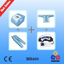 high-quality BR604 24 air bags legs and thigh massage pressotherapy detox machine