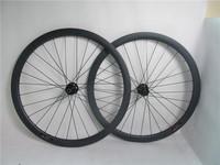 High-end DT hub ! 38mm tubular carbon wheelsets, FSC38TM-25, 25mm width carbon wheels, M-series, only 1365g/set, DT240 disc hub