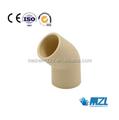Cpvc tubería y montaje / cpvc codo