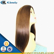 wholesale virgin european human hair silk top kosher jewish wigs