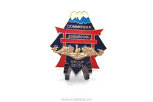 china craft fatory custom logo bigger japan line memorial medal ornaments