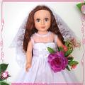 Oem de la boda muñeca de juguete para el festival personalizada americana muñeca del sexo