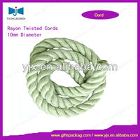 Hot Sale 8mm Twisted Rayon Rope