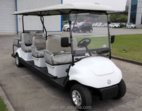 Newest classic 48 voltage chinese 8 seater electric cheap car golf for sale