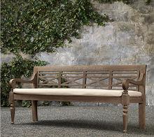 antique wooden rustic bench/garden bench