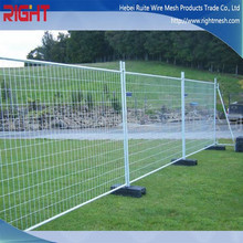 Outdoor plastic feet Stands concrete Temporary Fence