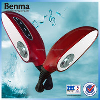 mirror motorcycle mp3 player, electric rear view mirror ,music mirror