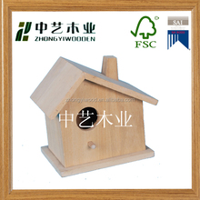 New arrive Handmade wooden carved bird cage antique hanging bird house