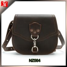 Dark Brwon crazy horse leather handbag wholesale designer handbags
