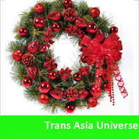 High Quality Cheap christmas decorative wreaths for front door