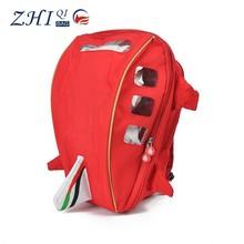 ZQ-A-002 300DPVC factory direct sale BSCI certification school using cartoon aircraft design kids school bag