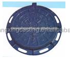 heavy duty circular bitumen coating OEM manhole covers