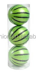 Hot Colorful Bouncing ball watermelon Foam Rubber Ball