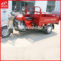 African Countries Popular Agricultural Cargo Tricycle 5.0-12 Big Tires Farming Tricycle Trike