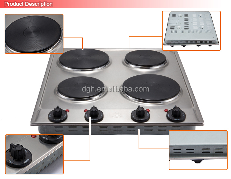 Brand Names Electric Appliances Table Top 4 Burner Electric Stove