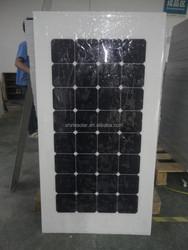 high efficiency flexible solar panel 100 Watt