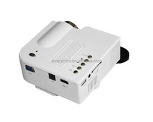 UC28+ mini led projector 400 lumens pocket mini LCD video HDMI pico LED game projector 1920x1080 Everycom