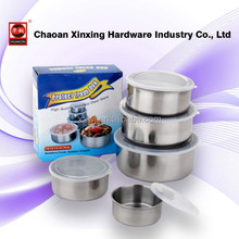 food container bowls stainless steel storage boxes