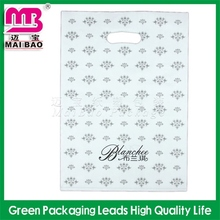 full color printing white transparent die cutting bags