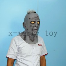 X-MERRY Scream old ghost man latex mask for movie props halloween deluxe decoration
