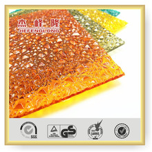 Best Prices UV protection long life pc granule diamond polycarbonate sheet