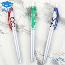 Plastic ballpiont pen for school and office pen plastic promotional
