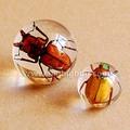 caliente venta de bola de cristal pieza central con brasa realincorporado para el regalo promocional