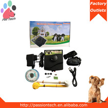Pet-tech w-227b hot selling outdoor dog fence rechargeable and waterproof
