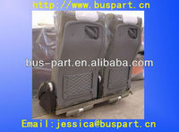 Luxury Bus Passenger Seat with Leather Seat Cover