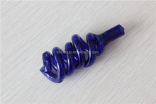 New style heliciform glass fittings for smoking pipes