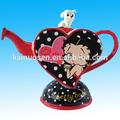 Nuevo betty boop& rechoncho tetera clásico- beso de dibujos animados de san valentín de regalo olla de cerámica