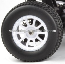 Sc de rueda de camión completo, 1/10th de neumáticos de camión set, de la camioneta rc 4wd de la rueda