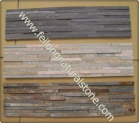 natural slate stacked stone decor wall panels veneer