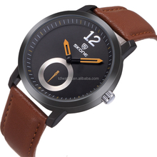 Hot selling skone leather men watch accept paypal