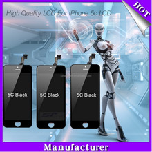 Mobile phone lcd for iphone 5c lcd display , for iphone 5c lcd and digitizer with colorful box