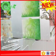 Hot sale no mark decorative plastic wall shelves design