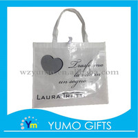 customized waterproof lamination non woven shopping bag with clothes