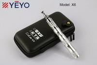 x6 ecig vaporizer pen starter kit variable voltage 3.6v~4.2v 1300mah battery x6 e cig electronic cigarette