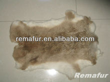 Genuine Tanned Rabbit Fur