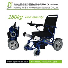 2015 foldable cheap price electric power wheelchair spare parts motor for disabled people