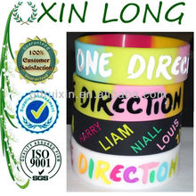 2013 most beautiful new silicon wristband one direction