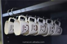 Metal Chrome Storage Under Shelf Mug Cup Rack Holder for Kitchen