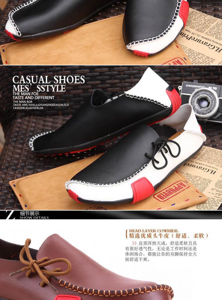 Мужчины свободного покроя обувь мокасины обувь из натуральной кожи высокое качество теплые квартиры летний открытый свободного покроя мужской обуви размер 38 - 47