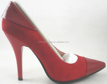 Stylish high quality lether pumps women shoes sexy high heels classic lady shoe