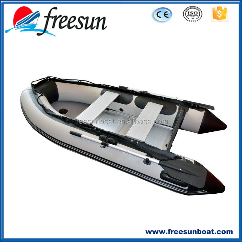 Freesun Manufacturer Inflatable Fishing Boat With Under